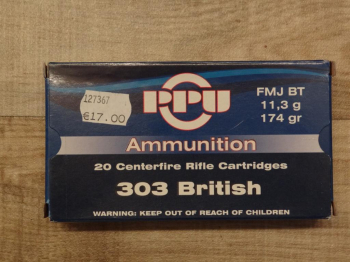 .303 British 174 grs FMJ BT
