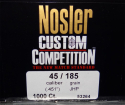 Nosler - .451 185 gr JHP Competition