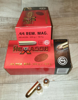 .44 REM MAG 299 gr Hexagon